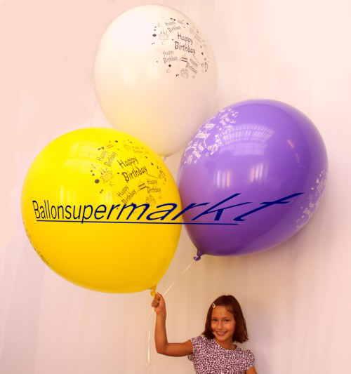 Happy Birthday zum Kindergeburtstag