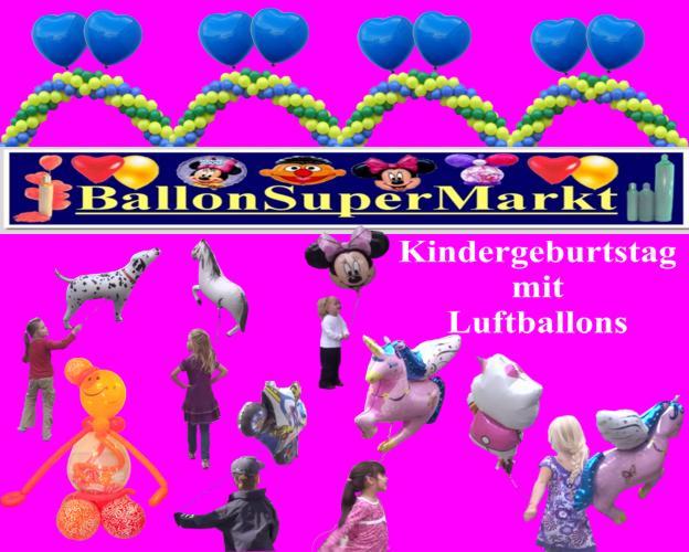 Luftballons Kinder - Kindergeburtstag - Kinderparty mit Luftballons